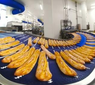 食品级输送带在食品行业的应用